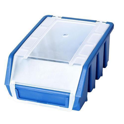 Plastový box Ergobox 2 Plus 7,5 x 16,1 x 11,6 cm, modrý