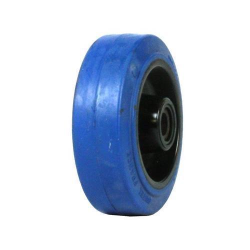 Gumové pojezdové kolo, průměr 100 mm, kluzné ložisko