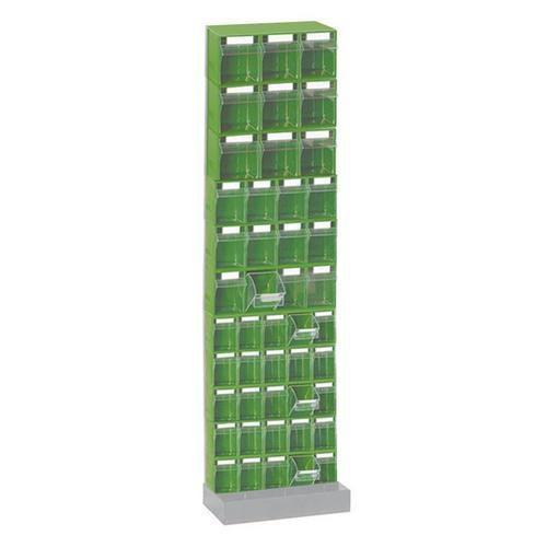 Kovový stojan se zásuvkovými moduly, velký jednostranný - Prodloužená záruka na 10 let