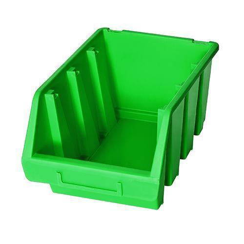 Plastový box Ergobox 3 12,6 x 24 x 17 cm, zelený