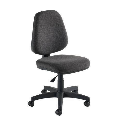 Manutan Kancelářská židle Single, antracit - Prodloužená záruka na 10 let
