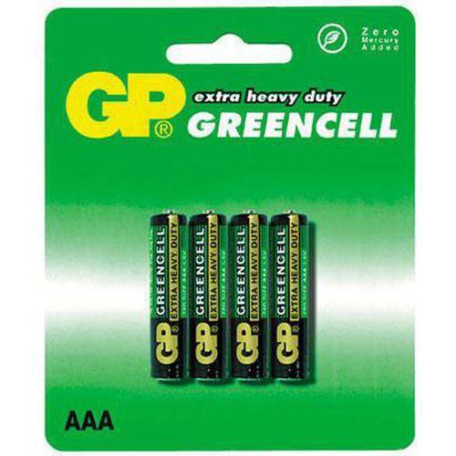 Baterie GP Greencell AAA 4ks