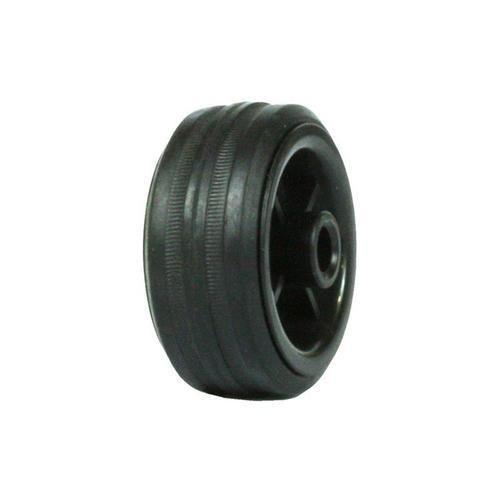 Gumové pojezdové kolo, průměr 80 mm, kluzné ložisko
