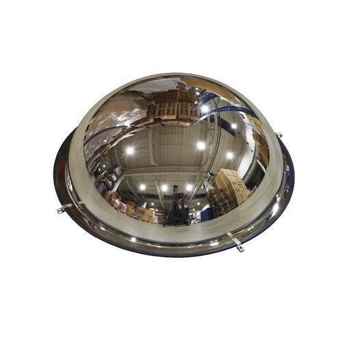 Průmyslové parabolické zrcadlo Manutan, polokoule, 600 mm - Prodloužená záruka na 10 let