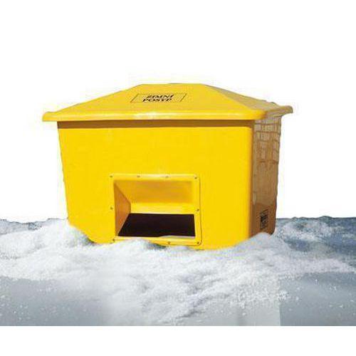 Nádoba na zimní posyp, 1 100 l, žlutá