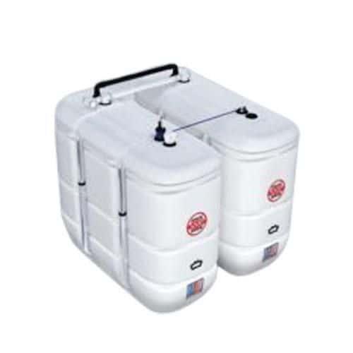 Dvouplášťová nádrž plast-plast, 1 500 l