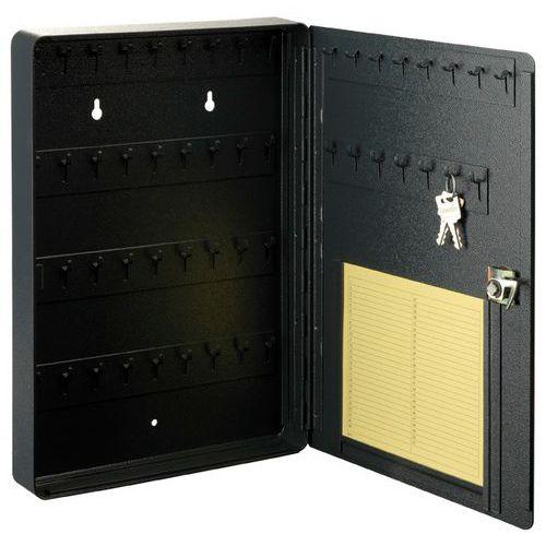 Skříňka na klíče se seznamem, 51 háčků