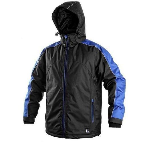 CXS Pánská zimní bunda černá/šedá