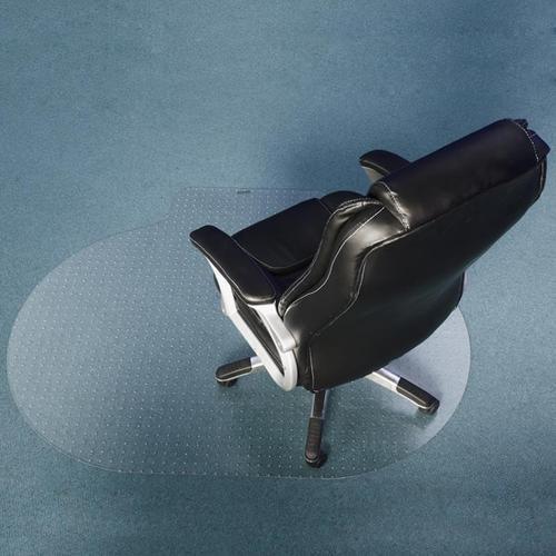 Ochranná podložka pod židli na koberce oválná