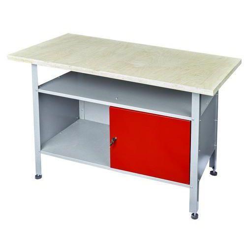 Dílenský stůl Reedy, 80 x 120 x 60 cm - Prodloužená záruka na 10 let