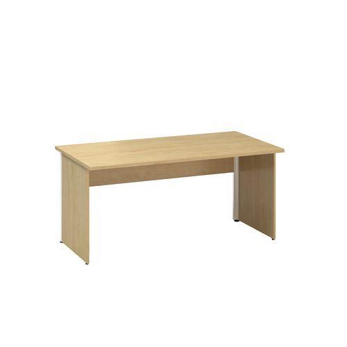 Kancelářský stůl Alfa 100, 160 x 80 x 73,5 cm, rovné provedení,