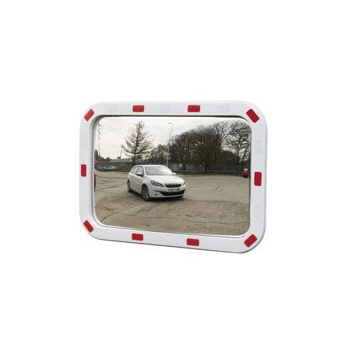 Dopravní obdélníkové zrcadlo Manutan, 600 x 800 mm
