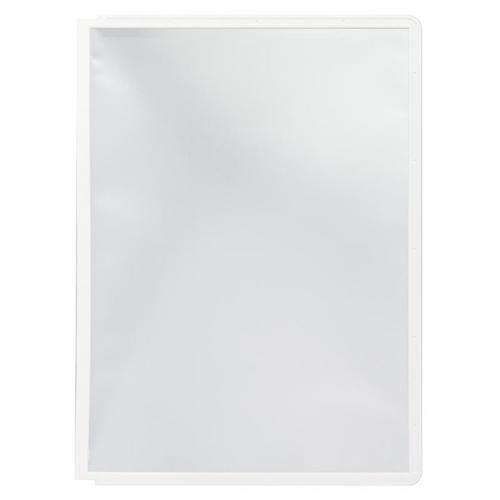Informační rámečky Cordoba A4, 10 ks, šedé