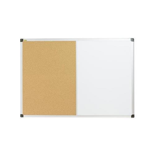 Korková a magnetická tabule Bi-Office, 60 x 90 cm
