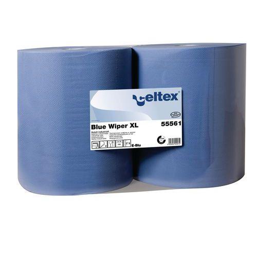 Průmyslové papírové utěrky Celtex Blue Wiper XL 2vrstvé, 1 000 ú