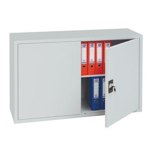 Kovová spisová skříň, 1 police, 75 x 120 x 38,3 cm