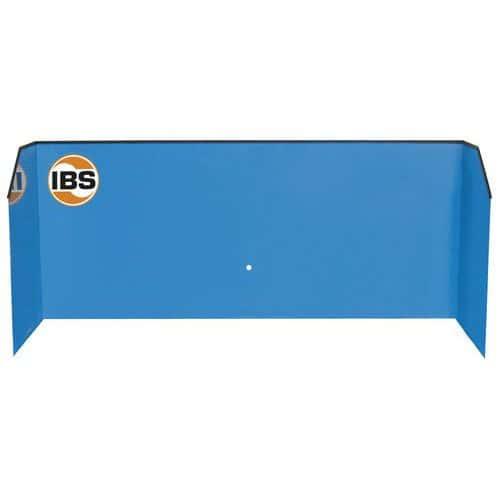 Protiostřiková stěna IBS k mycím stolům, typ M
