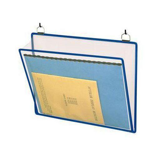 Informační rámečk Tarifold A4, se dvěma oky, modrý