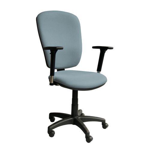 Kancelářská židle Lucia, šedomodrá