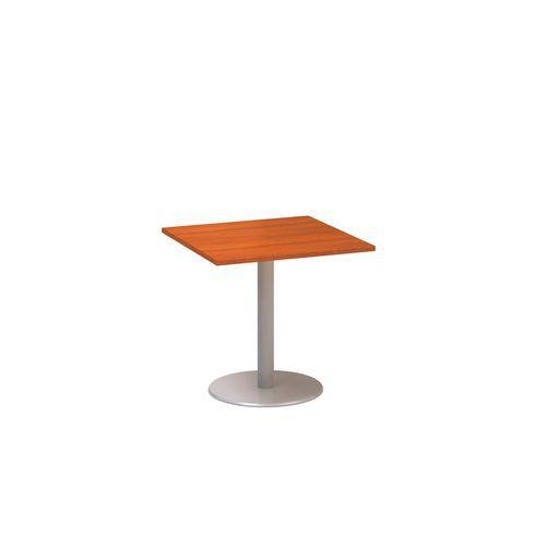 Konferenční stůl Alfa 400, 80 x 80 x 74,2 cm, dezén třešeň