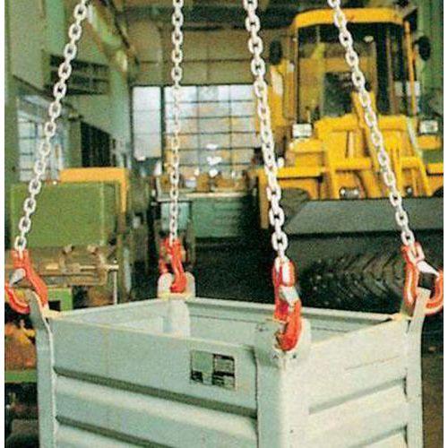 Vázací řetěz s okem a čtyřmi háky, do 4 250 kg