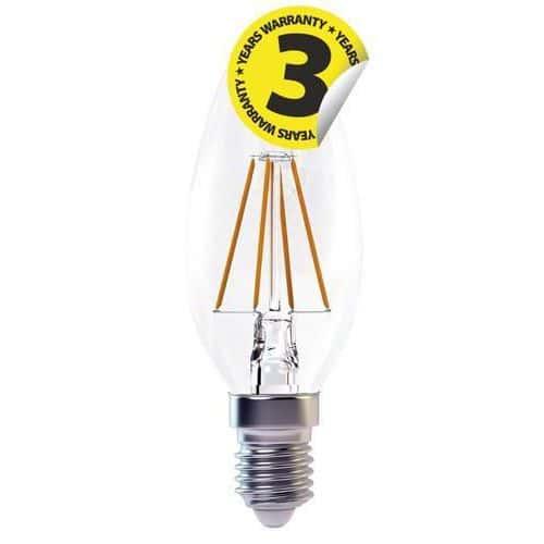 LED žárovka Filament Candle, 4 W, patice E14