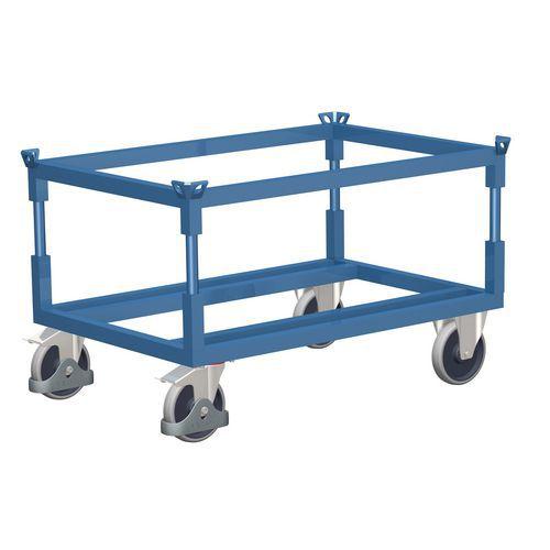 Podvozek pro palety, 120 x 80 cm, do 1 200 kg