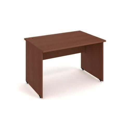 Kancelářský stůl Gate, 120 x 80 x 75,5 cm, rovné provedení, dezén ořech