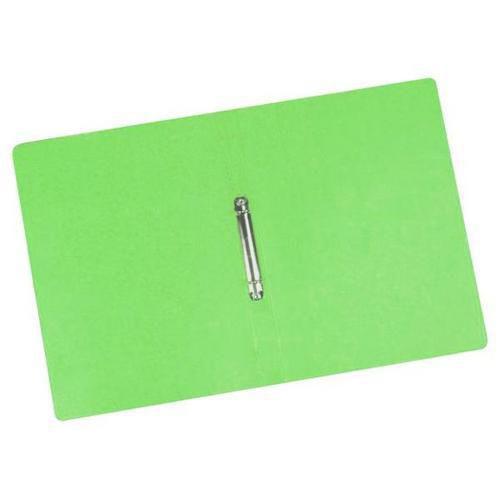 Kroužkový pořadač Clear, 20 ks, 2 kroužky, zelený