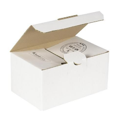 Kartonová krabice s víkem, 100 x 180 x 120 mm