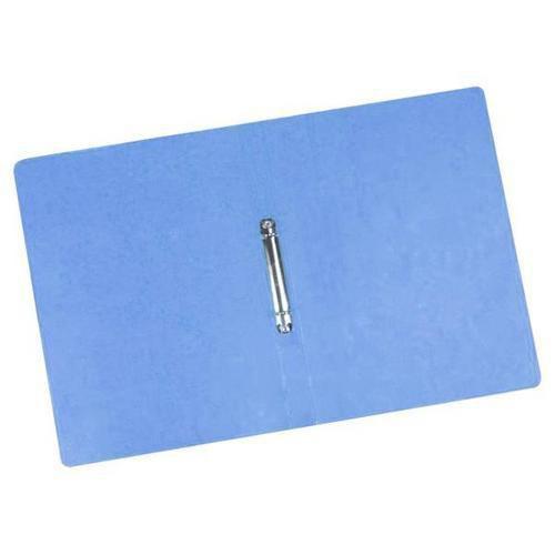 Kroužkový pořadač Clear, 20 ks, 2 kroužky, modrý