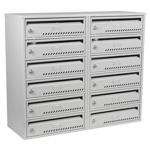 Modulová kovová poštovní schránka TG, 12 boxů