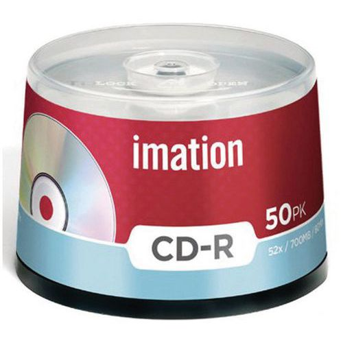 CD-R Imation 52x, balení = 50