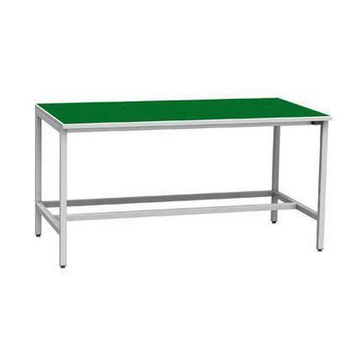 Svařovaný antistatický pracovní stůl, 82,5 x 160 x 81 cm - Prodloužená záruka na 10 let