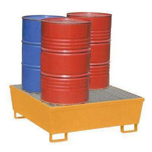 Záchytné vany pro 1-4 sudy 200 l