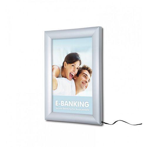 Rám na plakáty Lendraw s LED osvětlením, 70 x 100 cm
