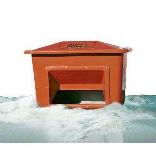 Nádoba na zimní posyp, 220 l, oranžová - Prodloužená záruka na 10 let