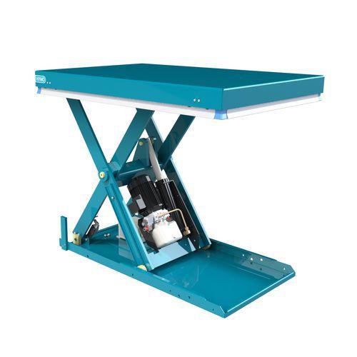Hydraulický zvedací stůl Origin, do 1 000 kg, deska 120 x 80 cm