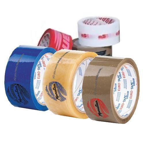 Lepicí pásky, tříbarevný tisk, šířka 50 mm, balení 108 ks