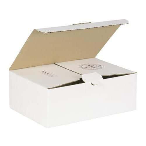 Kartonová krabice s víkem, 100 x 150 x 175 mm