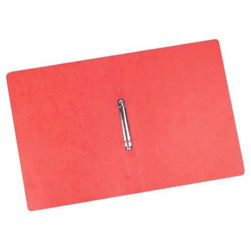 Kroužkový pořadač Clear, 20 ks, 2 kroužky, červený