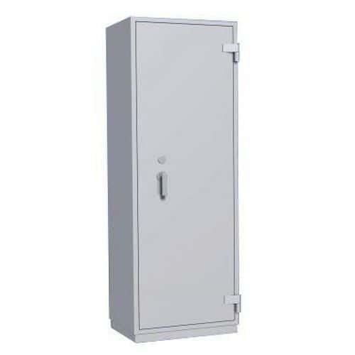 Trezorová skříň Boyne, bezpečnostní třídy 0, šedá, 1560 x 700 x 500 mm