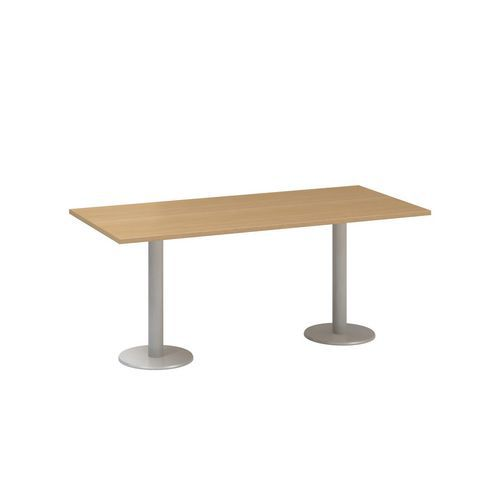 Konferenční stůl Alfa 400, 180 x 80 x 74,2 cm, dezén buk
