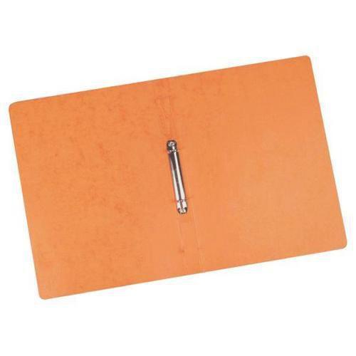 Kroužkový pořadač Clear, 20 ks, 2 kroužky, oranžový