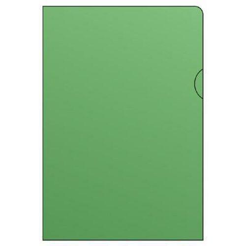 Barevné zakládací obaly L, hladké, 100 ks, zelené