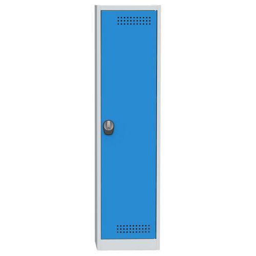 Skříň na kapaliny, modro/šedá, 1950x505x500 mm