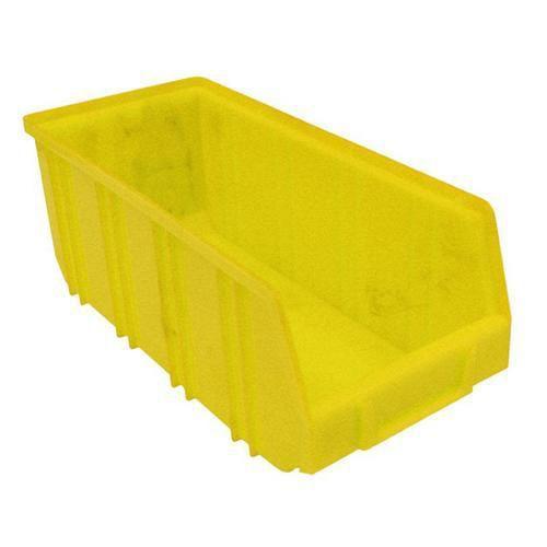 Plastový box 12,5 x 14,5 x 33,5 cm, žlutý
