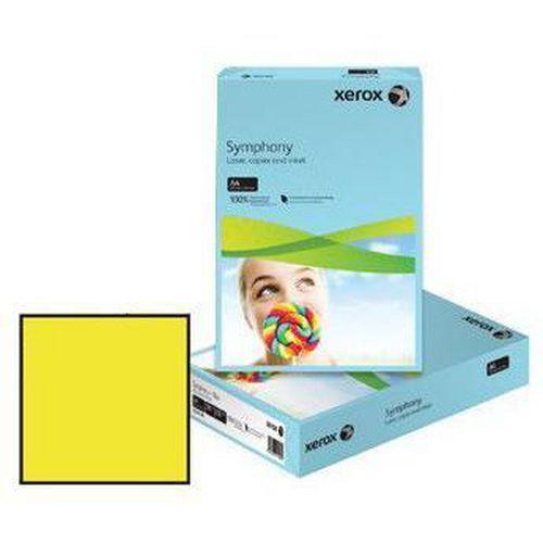 Barevný papír XEROX Symphony, intenzivně tmavě žlutá