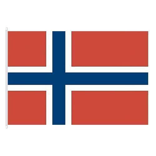 Státní vlajka, s karabinou, 150 x 100 cm, Norsko