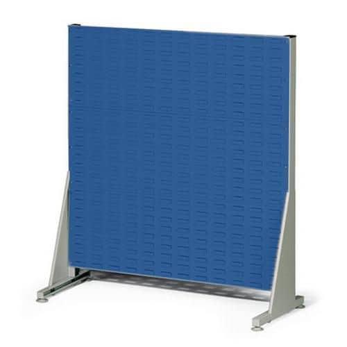 Jednostranný PERFO regál, výška 112 cm, modrý